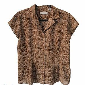 Liz Claiborne Cheetah Animal print Spring trend 10
